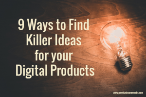 ideas for digital products
