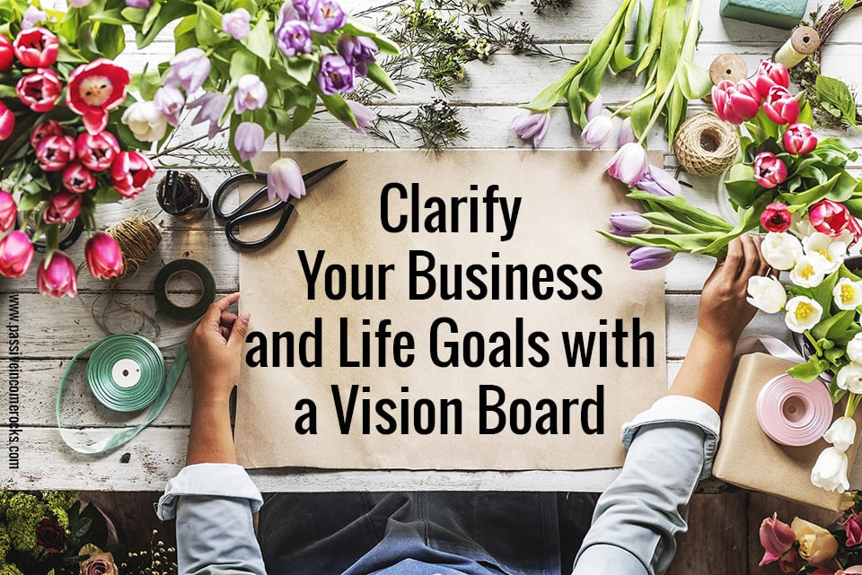 Vision boards for clarity